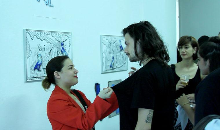 Claudia_Ponzi_visual_artist_contemporary_art_installation_video_painting_Claudia_Ponzi_performance_ young_artist_woman